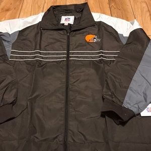 NWT Cleveland Browns windbreaker size XL